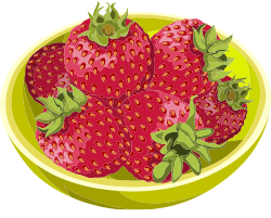 too many strawberries for your dog